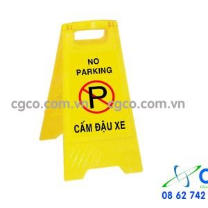 Biển báo chữ A cấm đậu xe no parking