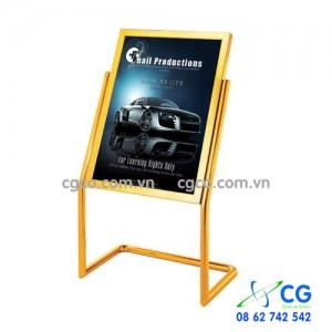 Bảng Menu có mặt bảng lớn để quảng cáo