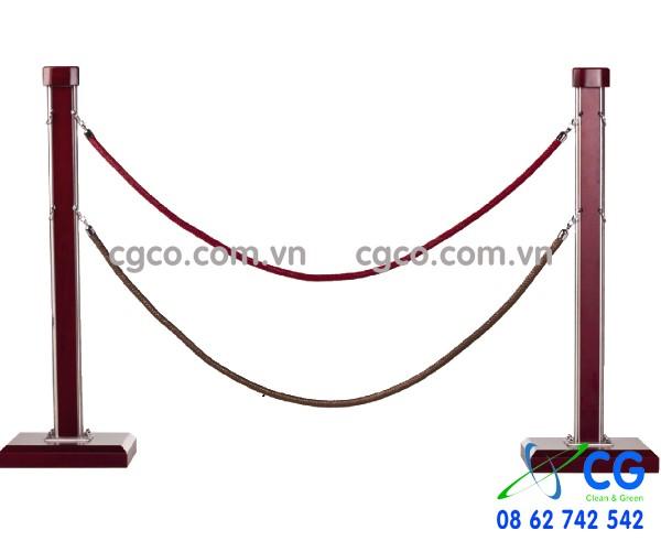 Cột chắn cao cấp dây nhung trùng G28-L