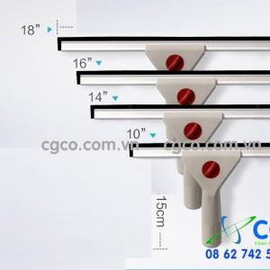 Bộ lau kiếng bằng nhựa nhôm cầm tay