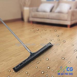 Bộ gạt sàn ướt nước bằng inox lưỡi cao su