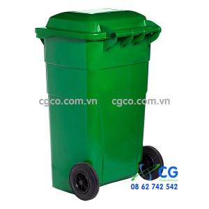 Thùng rác nhựa 150L để nơi công cộng