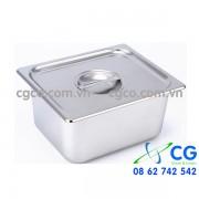 Khay GN 1/2 – khay inox giữ nóng thức ăn