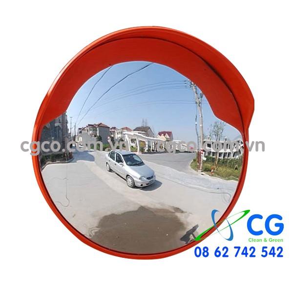 Gương cầu lồi Polymer giao thông không vỡ 80cm