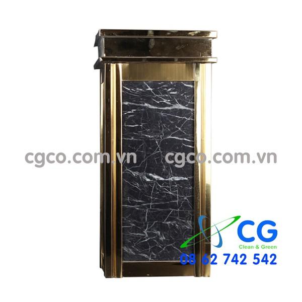Thùng rác đá hoa cương A17-A để sảnh hành lang thang máy