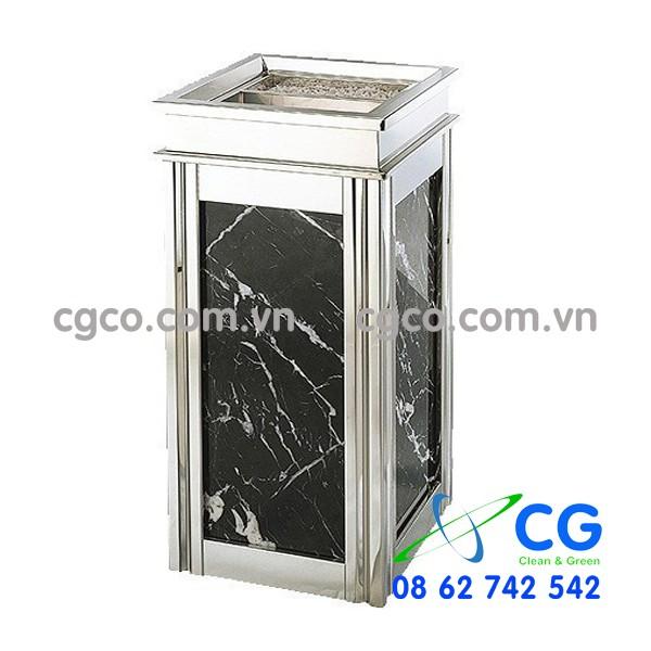 Bán thùng rác đá hoa cương giá rẻ tại tphcm, hà nội