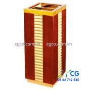 Thùng rác bằng gỗ khay gạt tàn thuốc giá rẻ