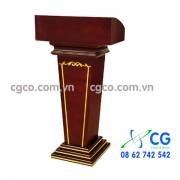 Bục phát biểu bằng gỗ nhập khẩu cao cấp